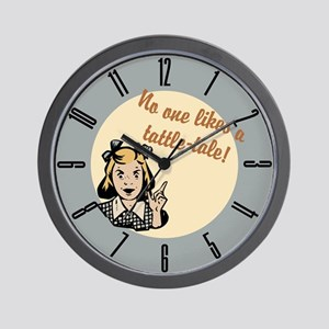 tattle-tale_cl Wall Clock