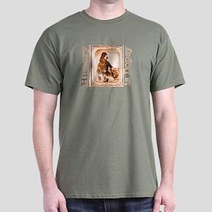 Springer Spaniel TWITCH Dark T-Shirt