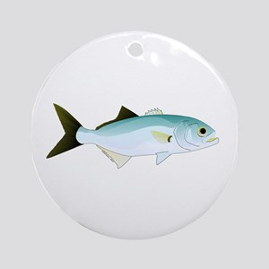 Bluefish Ornament (Round)