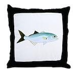 Bluefish Throw Pillow