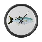 Bluefish Large Wall Clock