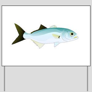 Bluefish Yard Sign