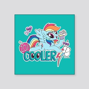 MLP Rainbow Dash Cooler Sticker