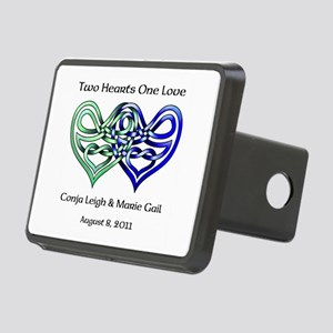 Two Hearts Hitch Cover