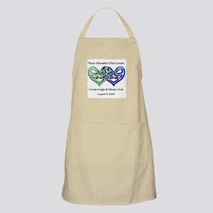 Two Hearts Apron