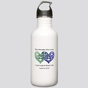 Two Hearts Water Bottle