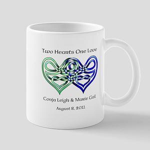 Two Hearts Mug