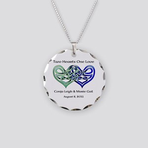 Two Hearts Necklace