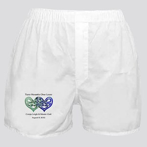 Two Hearts Boxer Shorts