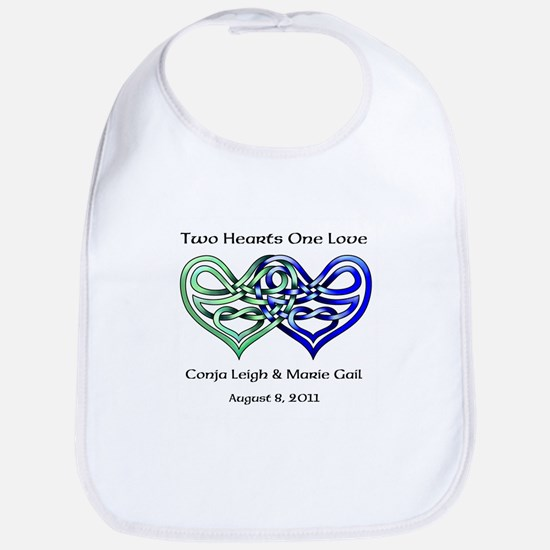 Two Hearts Bib