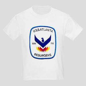 USS Atlanta SSN 712 Kids T-Shirt