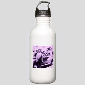 The Cat driver Water Bottle