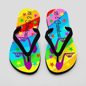 FASHIONABLE 35TH Flip Flops