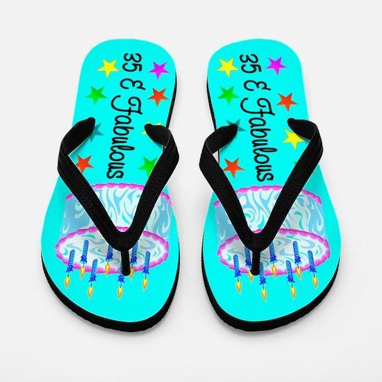 YUMMY 35TH Flip Flops