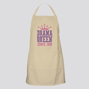 Drama Queen Since 1970 Apron