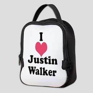 I Heart Justin Walker 1 Neoprene Lunch Bag