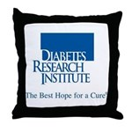 Diabetes Research Institute Throw Pillow