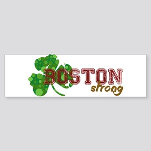 Boston Strong Bumper Sticker