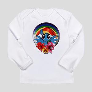 My Little Pony Rainbow Dash Flowers Long Sleeve T-