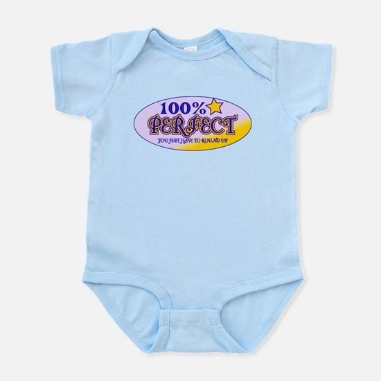 100% Perfect Purple Infant Bodysuit