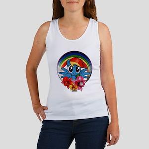 My Little Pony Rainbow Dash Flowers Tank Top