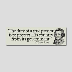 Paine on Patriotism Car Magnet 10 x 3