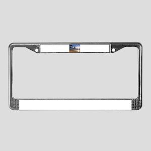 TROPICAL SUNRISE License Plate Frame