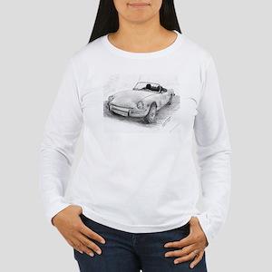 Triumph Spitfire Pencil Sketch Long Sleeve T-Shirt