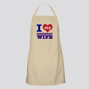 I love my Cambodian Wife Apron