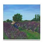Lavender Days Tile Coaster