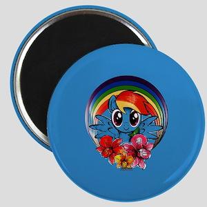 My Little Pony Rainbow Dash Flowers Magnets