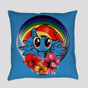 My Little Pony Rainbow Dash Flowers Everyday Pillo