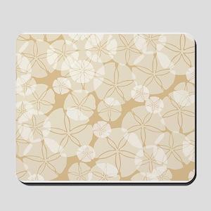 SAND DOLLAR COLLAGE Mousepad
