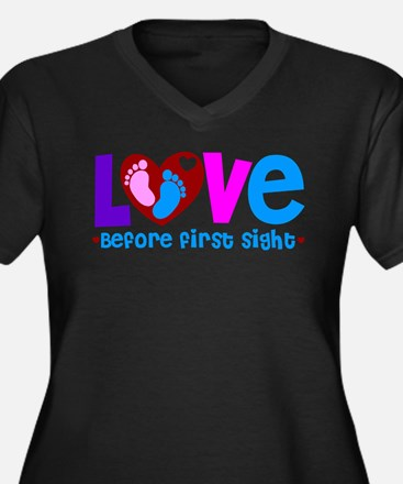 Love Before First Sight Plus Size T-Shirt