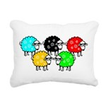 CG Sheep Logo Rectangular Canvas Pillow