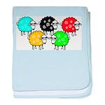 CG Sheep Logo baby blanket