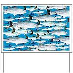 Montauk School of Fish Attack pattern 1 sq Yard Si