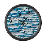 Montauk School of Fish Attack pattern 1 sq Large W