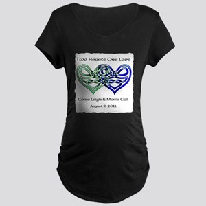 Two Hearts Maternity T-Shirt