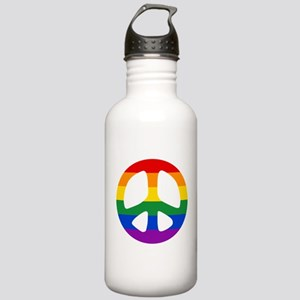Rainbow Flag Peace Stainless Water Bottle 1.0L