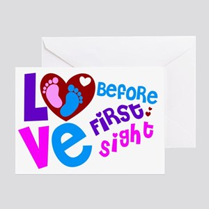 Cute Love Before First Sight Greeting Card