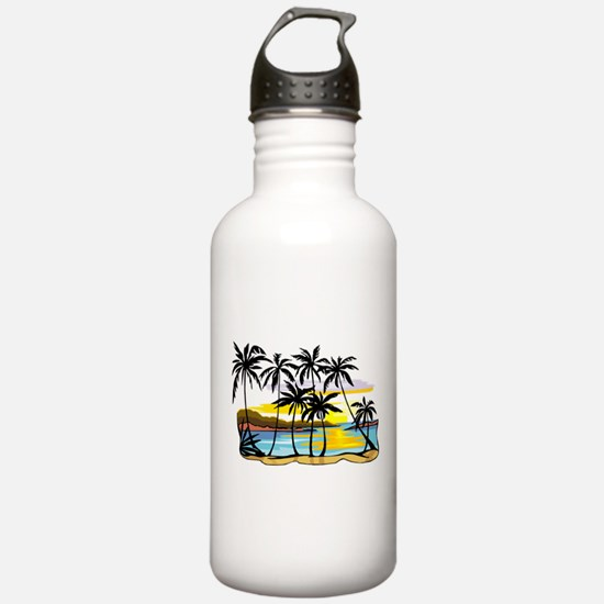 TROPICAL SUNSET Water Bottle