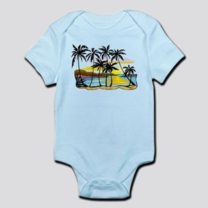 TROPICAL SUNSET Body Suit