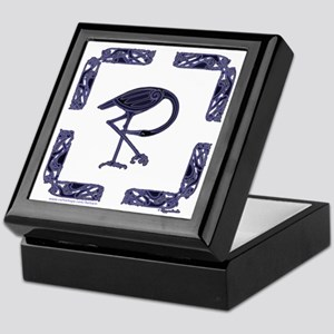 Crane Keepsake Box in white