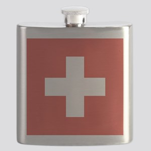 Flag of Switzerland Flask
