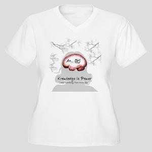 Knowledge Plus Size T-Shirt