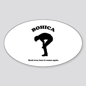 Bohica Bend Over Sticker