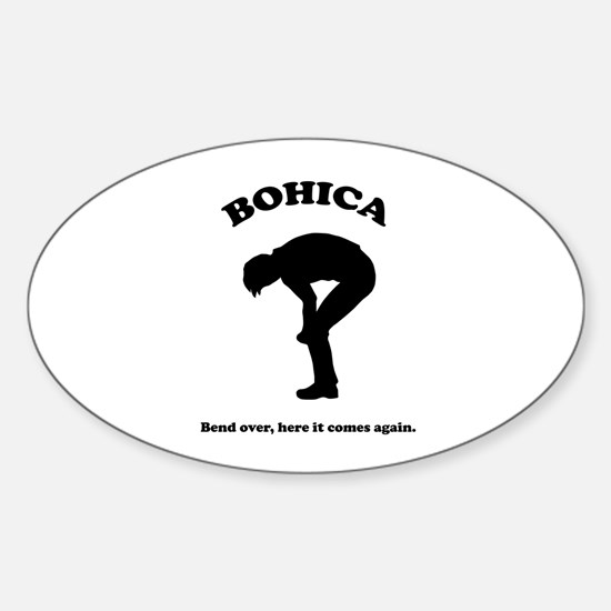 Bohica Bend Over Decal