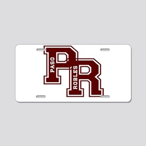 PR paso robles Aluminum License Plate