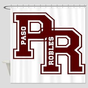 PR paso robles Shower Curtain